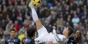 Video Tendangan Salto Cristiano Ronaldo, Real Madrid vs Granada 2-0