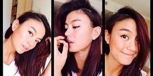 12 Foto Selfie Cantik Agnes Monica