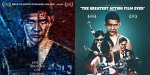 2 Poster Internasional The Raid: Berandal
