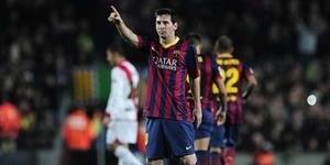 Barcelona vs Rayo Vallecano 6-0, Messi Cetak Rekor Baru
