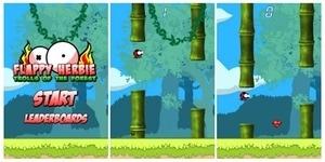 Flappy Herbie Saga: Trolls of the Forest, Game ala Flappy Bird di BlackBerry 10