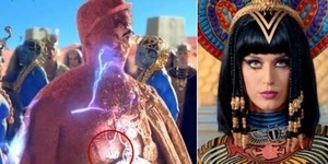 Lafadz Allah Dibakar di Video Klip Katy Perry Dark Horse