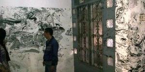 Muncul Gambar Misterius Hingga Lafadz Allah di Dinding Rumah Usai Kebanjiran