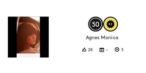Agnes Monica Masuk Top 50 Uncarted Billboard