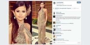 Instagram Down Gara-gara Justin Bieber Unggah Foto Seksi Selena Gomez