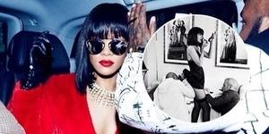 Pria ini Bertugas Intip Isi Rok Rihanna