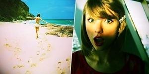 Cari Telur Paskah, Taylor Swift Seksi Berbikini