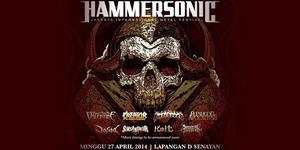 Daftar Band yang Tampil di Hammersonic 2014