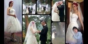 Foto Pernikahan Mulan Jameela dan Ahmad Dhani