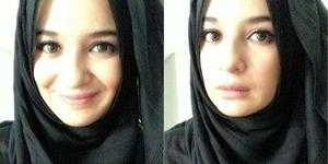 Foto Cantik Hijab Selfie Shireen Sungkar