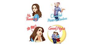 Gratis Sticker Selamanya Di WeChat