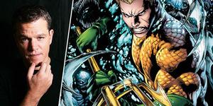 Matt Damon jadi Aquaman di Justice League