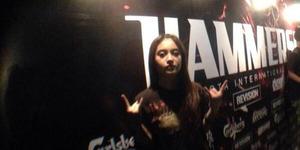 Metal! Nabilah JKT48 Nonton Hammersonic 2014