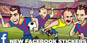 16 Stiker Barcelona Hadir di Facebook Messenger