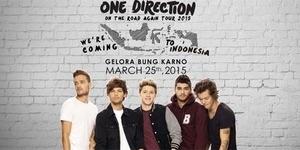 25 Maret 2015, One Direction Konser di Jakarta