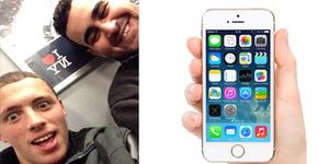 Foto Selfie Dengan iPhone Curian, Dua Maling Ceroboh Tertangkap