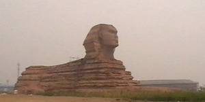 Inilah Patung Sphinx Made in China