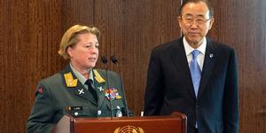 Kristin Lund, Perempuan Pertama Komandan Pasukan Perdamaian PBB