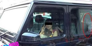 Ngeri, Penampakan Hantu di Dalam Mobil Terekam Kamera