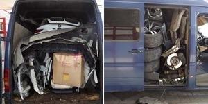Pencurian Kreatif : BMW X6 Dipreteli dan Diangkut Mobil Van