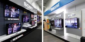 Perang Televisi Layar 4K Sony vs Samsung