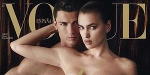 Ronaldo Bugil Bareng Irina Shayk di Vogue