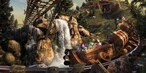 Seven Dwarf Mine Train, Wahana Terbaru Disneyland - Roller Coaster Putri Salju