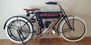 Termahal! Motor Klasik Winchester 1910 Dijual Rp 6,7 Miliar