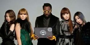 will.i.am Ungkap 2NE1 Girlband Terbesar di Korea Selatan