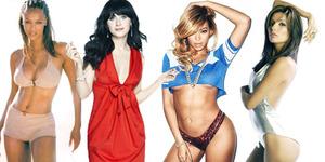 6 Artis Cantik Hollywood Berkumis Tipis