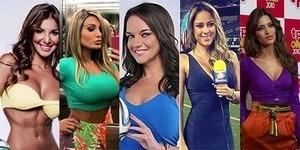 9 Reporter Tercantik dan Terseksi Piala Dunia 2014