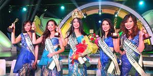 Annisa Ananda Nusyirwa Miss Earth Indonesia 2014