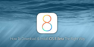 Cara Download dan Install iOS 8 Beta 1