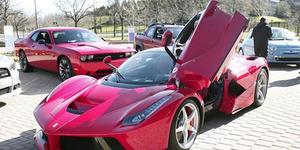 China Produksi Mobil Ferrari LaFerrari KW Mirip Aslinya