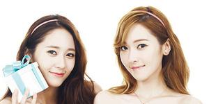 Foto Jessica SNSD dan Krystal f(x) Tanpa Make Up, Cantik?
