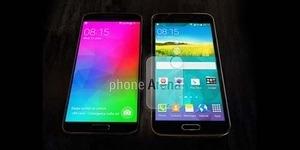 Foto Samsung Galaxy F vs Samsung Galaxy S5