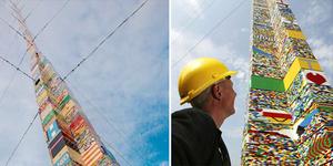 Ini Menara Lego Tertinggi di Dunia 34,7 meter!