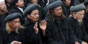Jamaah Tarekat Naqsabandiyah di Padang Puasa Hari Ini (27 Juni)