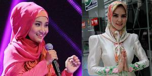 Jelang Ramadan, Hijab Ala Fatin dan Angel Lelga Laris di Pasaran