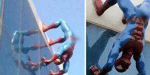 Patung Spiderman Ereksi di Korea Tuai Kecaman