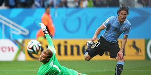 Piala Dunia 2014 Uruguay v Inggris 2-1