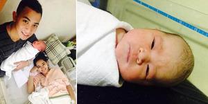 Poppy Bunga Melahirkan Bayi Perempuan, Khanza Aliyah Rhipat