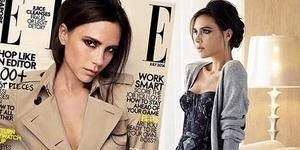 Pose Seksi Victoria Beckham di Elle Singapura