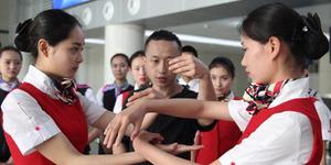 Pramugari China Dibekali Jurus Kung Fu