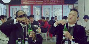 PSY dan Snoop Dogg Gila-gilaan di Video Klip Hangover