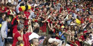 Rayakan Kemenangan, Suporter Belgia Tewas Terjatuh