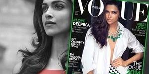 Tanpa Bra, Deepika Padukone Berpose Seksi di Vogue