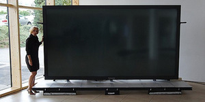Titan Zeus TV, Televisi Terbesar di Dunia Lebih Besar dari Gajah Seharga Rp 19 Miliar