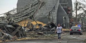 Tornado Kembar Terjang Kota Nebraska, Amerika Serikat