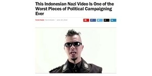 Video 'Nazi' Ahmad Dhani jadi Video Kampanye Terburuk Versi TIME